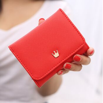 Женский кошелек, красный 1097