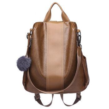 Женский рюкзак PHTESS , коричневый П1101
