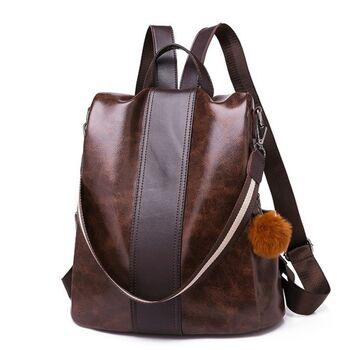 Женский рюкзак PHTESS , коричневый 1102