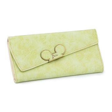 Женский кошелек, салатовый П0009