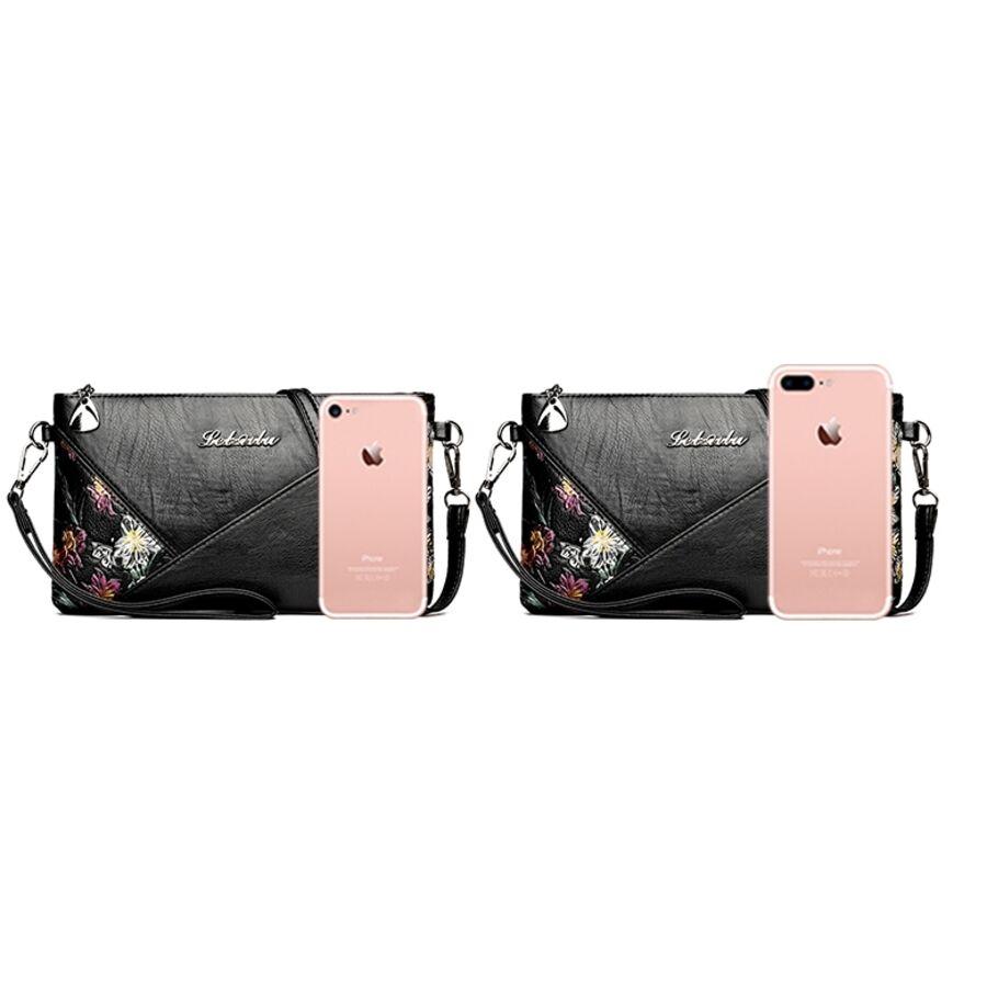 Женские сумки - Женская сумка PHTESS, черная П1106