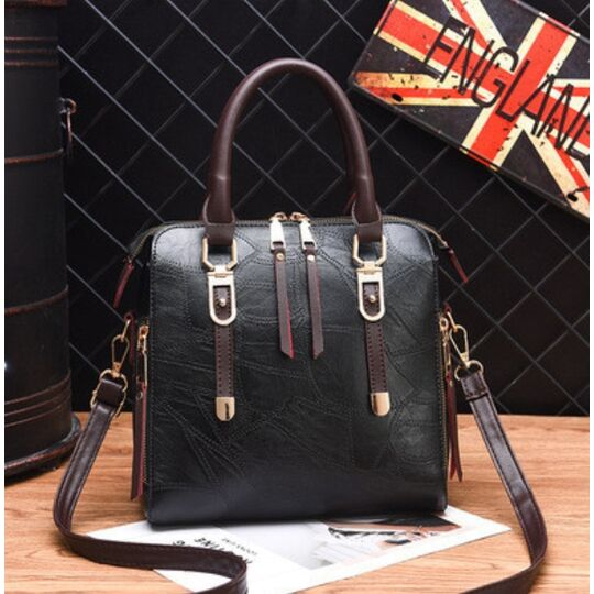 Женские сумки - Женская сумка ACELURE, черная П1110