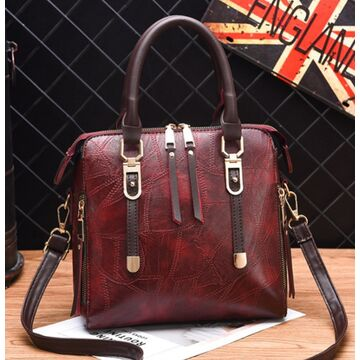 Женские сумки - Женская сумка ACELURE, красная П1111