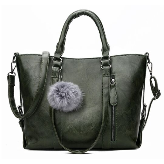 Женские сумки - Женская сумка ACELURE, зеленая П1112