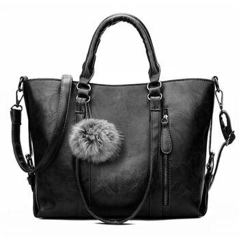 Женская сумка ACELURE, черная 1113
