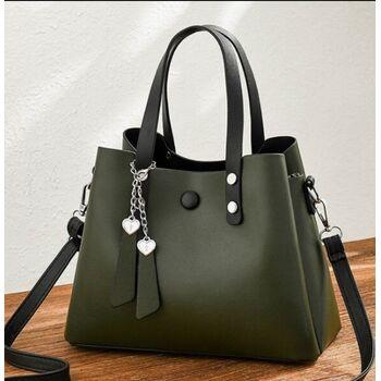 Женская сумка ACELURE, зеленая 1114