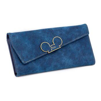 Женский кошелек, синий 0010