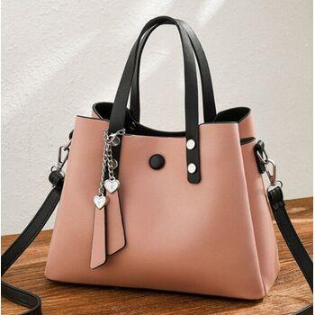 Женская сумка ACELURE, розовая 1115