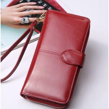 Женский кошелек ACELURE, красный 1116