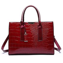 Женская сумка ACELURE, красная 1118