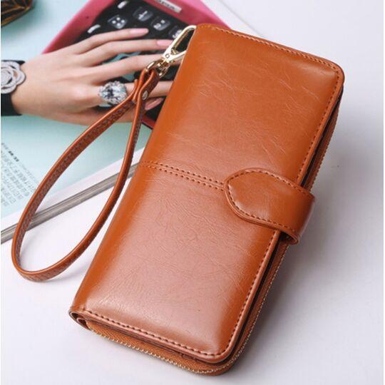 Женские кошельки - Женский кошелек ACELURE, коричневый П1123