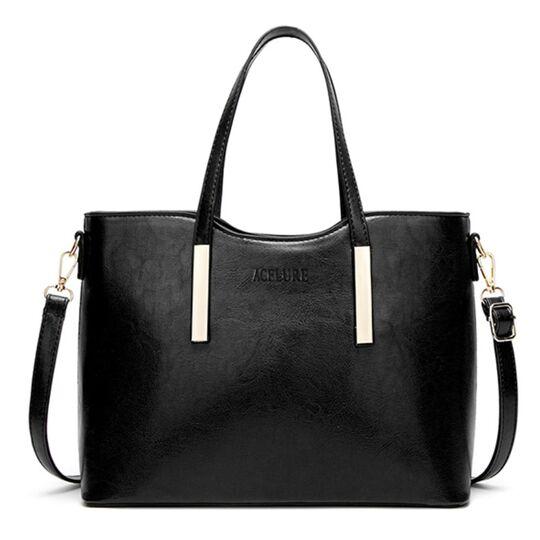 Женские сумки - Женская сумка ACELURE, черная П1125