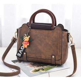 Женская сумка ACELURE, коричневая 1129