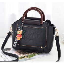 Женская сумка ACELURE, черная 1131