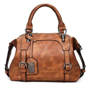 Женская сумка ACELURE, коричневая П1132