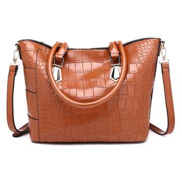 Женская сумка ACELURE, коричневая П1135