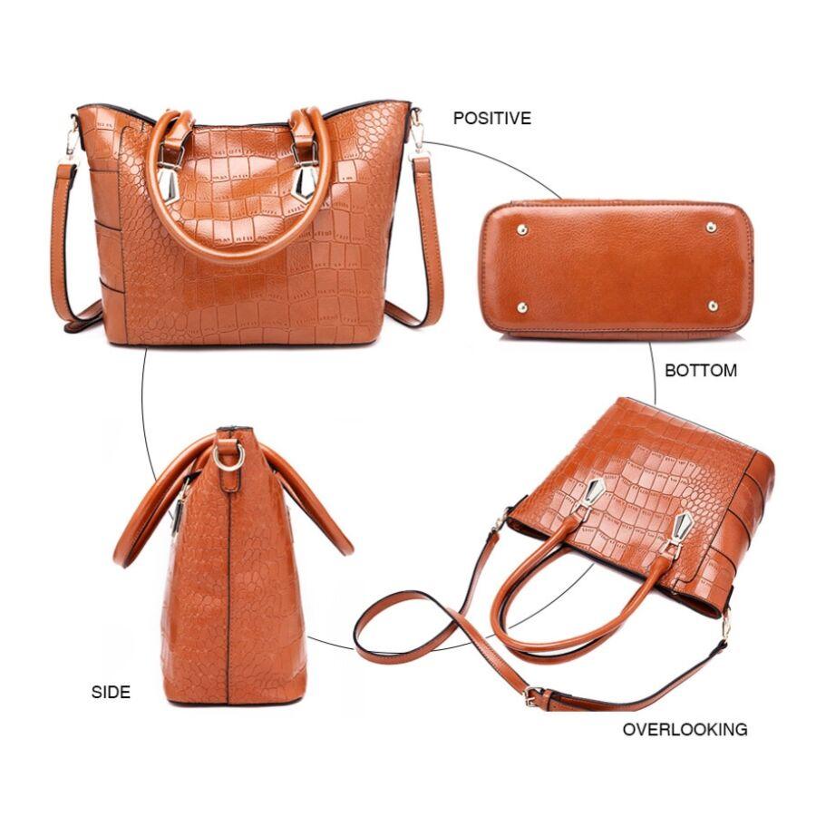 Женские сумки - Женская сумка ACELURE, коричневая П1135