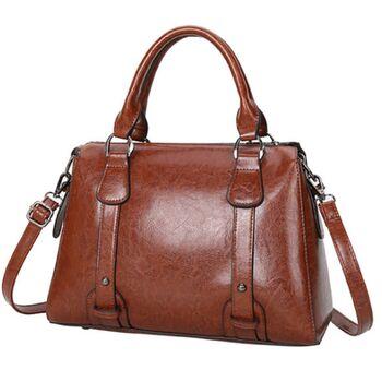 Женская сумка ACELURE, коричневая 1138