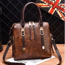 Женская сумка ACELURE, коричневая 1141