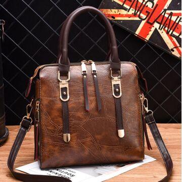 Женская сумка ACELURE, коричневая П1141
