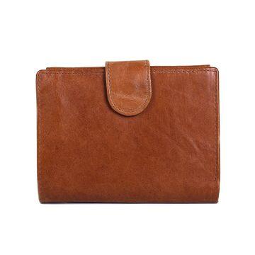 Мужской кошелек, коричневый П0013
