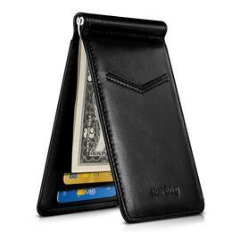 Зажим, кошелек NewBring, черный 1151