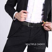 Мужские ремни и пояса - Мужской ремень CCOOLERFIRE, черный П1153