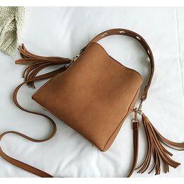 Женская сумка, коричневая 1157