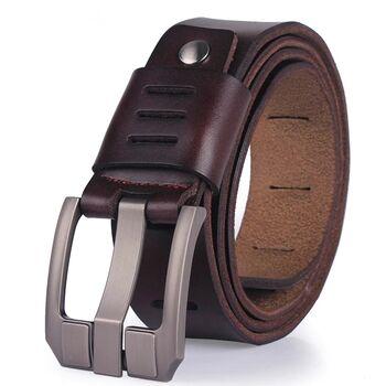 Мужской ремень CCOOLERFIRE, коричневый 1160
