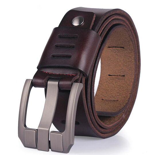 Мужской ремень CCOOLERFIRE, коричневый П1160