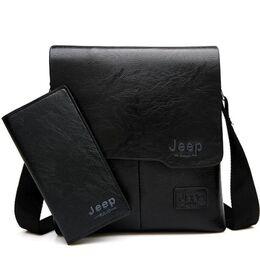 Мужская сумка JEEP BULUO, черная 0015