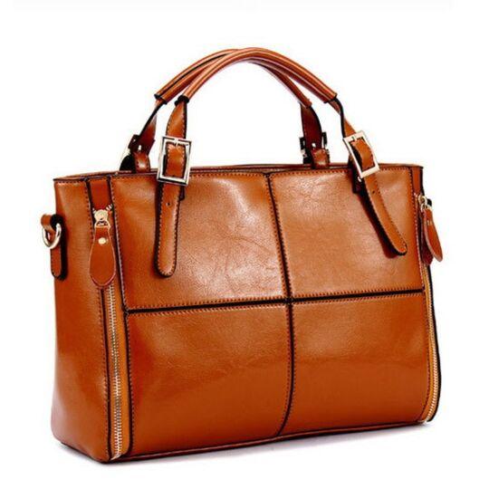 Женские сумки - Женская сумка FUNMARDI, коричневый П1179
