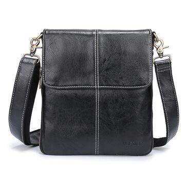 Мужская сумка VORMOR, черная П1180