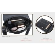 Мужские сумки - Мужская сумка VORMOR, черная П1180