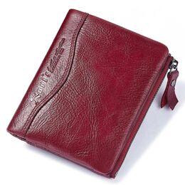 Женский кошелек KAVI'S, красный 1183