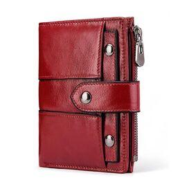 Женский кошелек KAVI'S, красный 1184