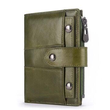 Женские кошельки - Женский кошелек KAVI'S, зеленый П1185