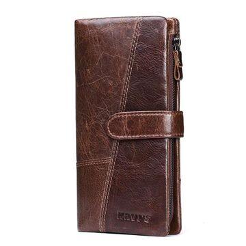 Женский кошелек KAVI'S, коричневый П1186