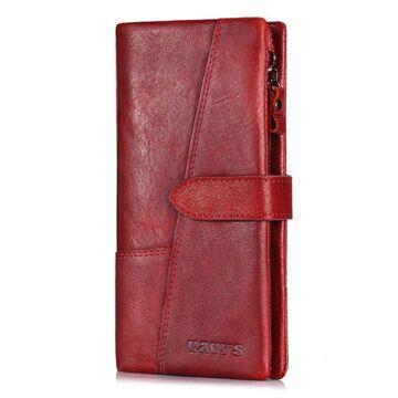 Женский кошелек KAVI'S, красный П1187