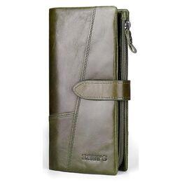 Женский кошелек KAVI'S, зеленый 1188
