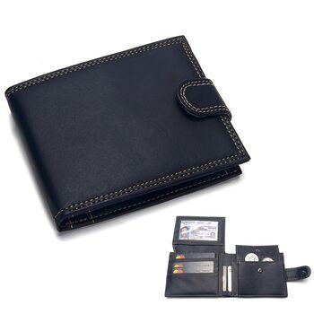 Мужской кошелек Badiya, черный П1191