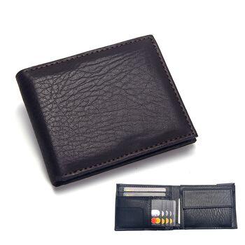 Мужской кошелек Badiya, коричневый 1192