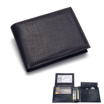 Мужской кошелек Badiya, коричневый П1194