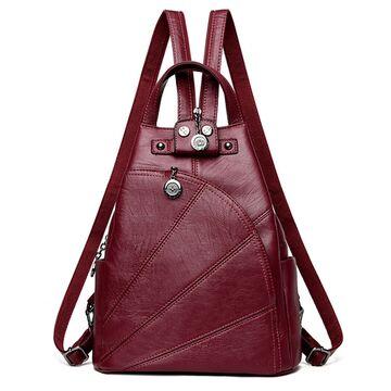 Женский рюкзак PHTESS, красный П1197
