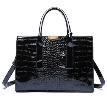 Женские сумки - Женская сумка ACELURE, черная П1199