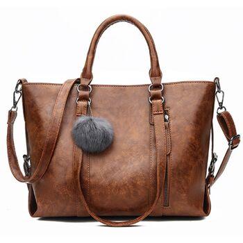 Женская сумка ACELURE, коричневая 1200