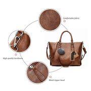 Женские сумки - Женская сумка ACELURE, коричневая П1200