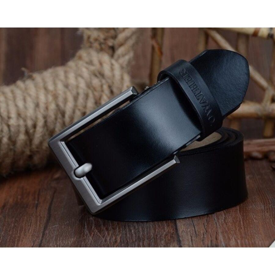 Мужские ремни и пояса - Мужской ремень COWATHER, черный 0019