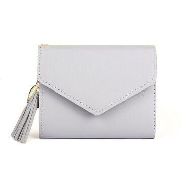 Женский кошелек DOMON, серый П1209