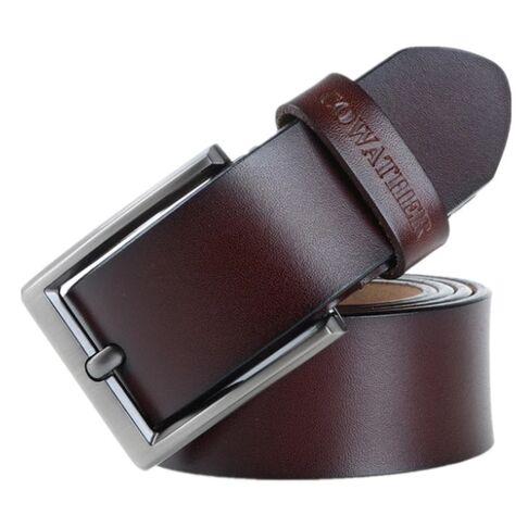 Мужские ремни и пояса - Мужской ремень COWATHER, коричневый 0020